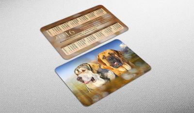 Печать карманных календарей в Москве с доставкой